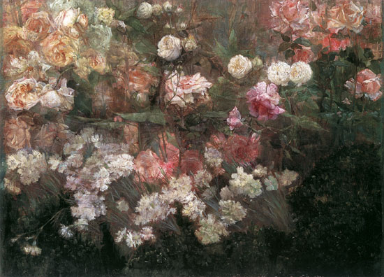 Garden in May, Maria Oakley Dewing (18X25)