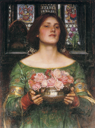 Gather Ye Rosebuds, John William Waterhouse