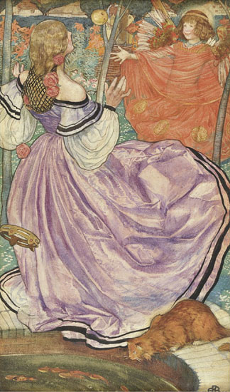 The Gilded Apple, Eleanor Fortescue-Brickdale (13X22)