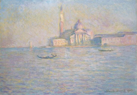 L'eglise San Giorgio Maggiore, Monet (25X36)