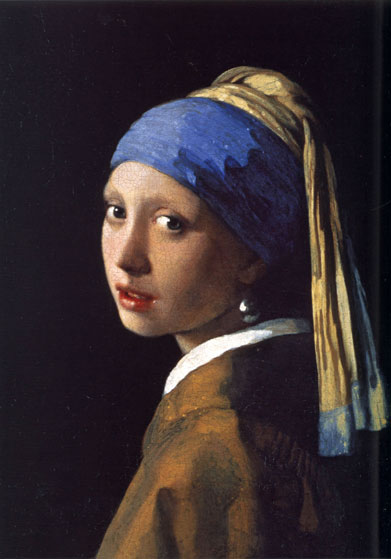 Girl with the Pearl Earring, Vermeer (16X23)