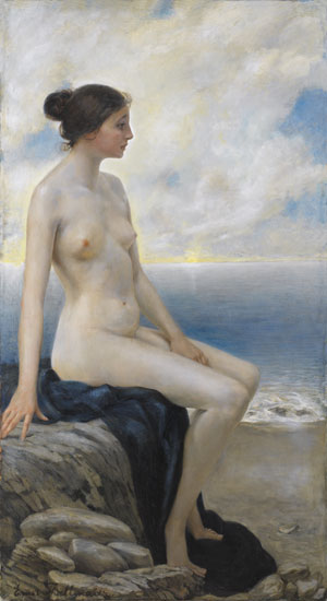 Girl By the Sea, Thallmaier (24X44)