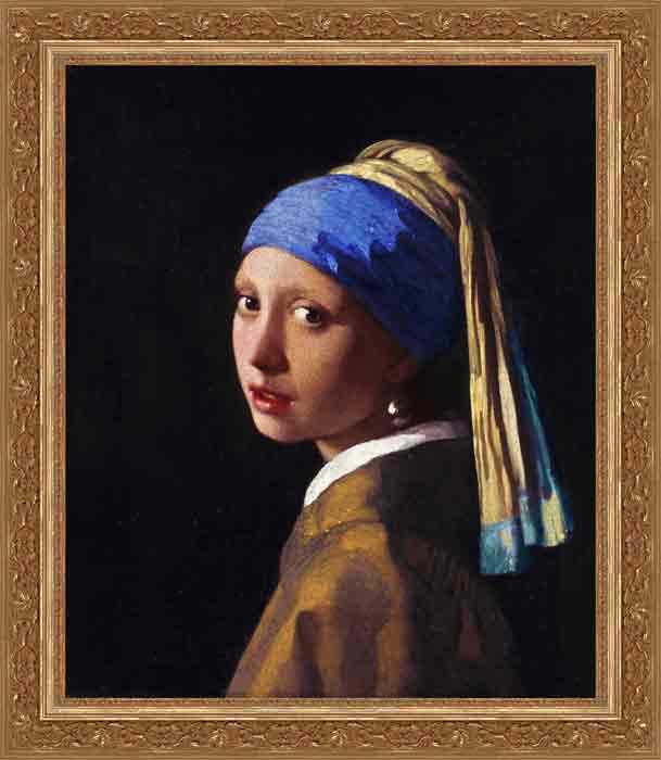 Girl with the Pearl Earring, Johannes Vermeer