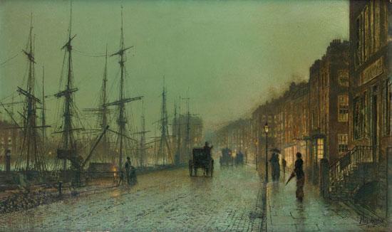 Glasgow  Docks, Grimshaw