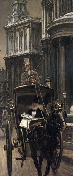 Going to Business, Tissot (14.1X34)