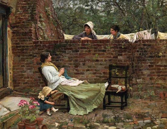 Gossip, Waterhouse