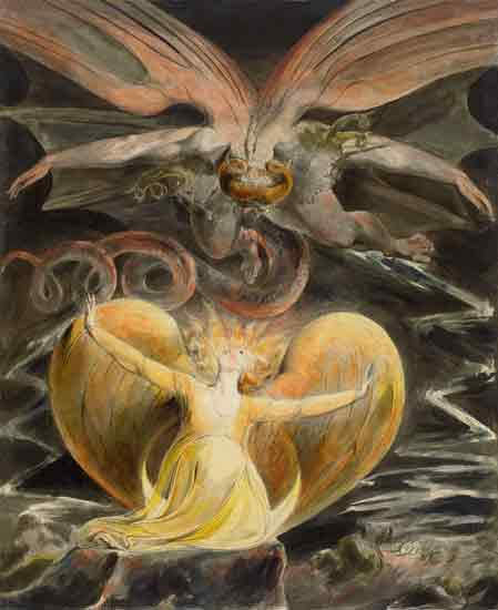 The Great Red Dragon and the Woman Clothed in the Sun, William Blake