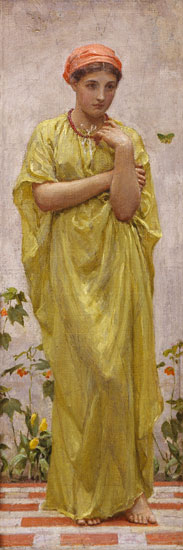 The Green Butterfly, Albert Moore