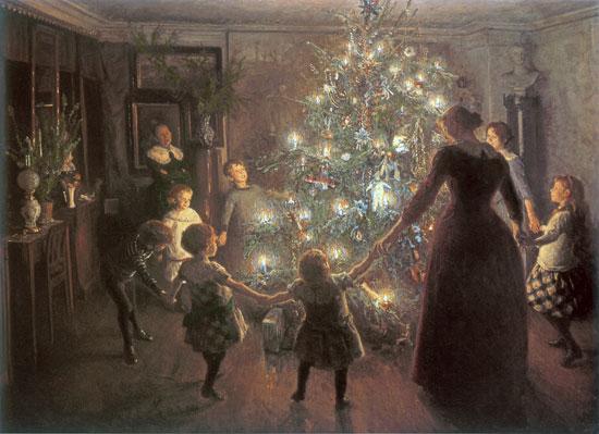 Happy Christmas, Johansen (16x22)