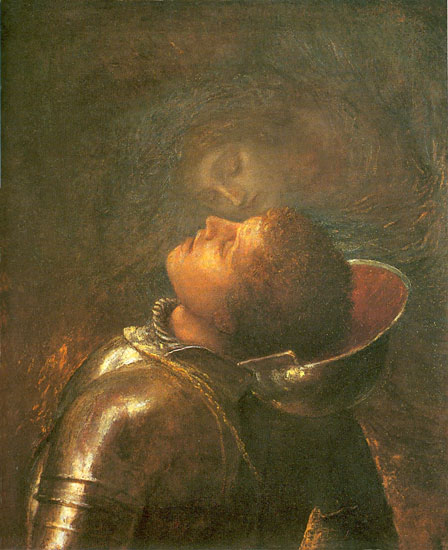 The Happy Warrior, George Frederic Watts (22X26)