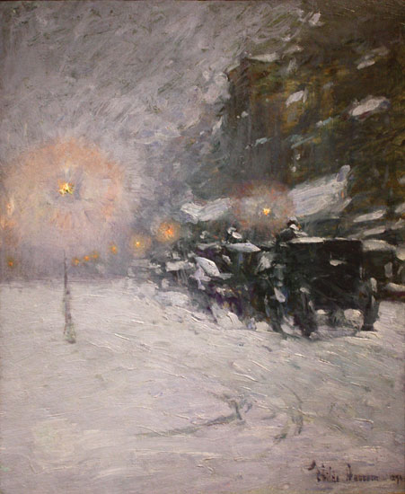 Winter Midnight, Childe Hassam (22X26.8)