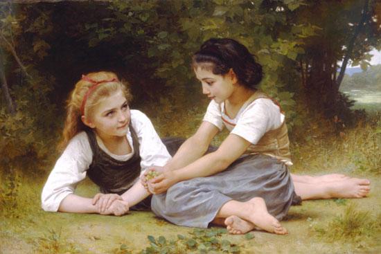Hazelnuts, Bouguereau (16X24)