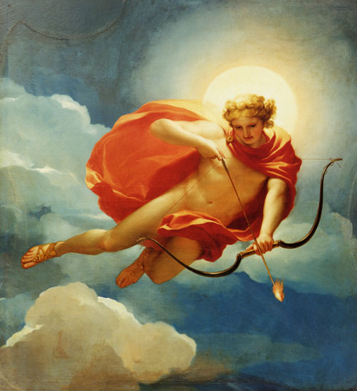 Helios as Personification of Midday, Anton Raphael Mengs (21x22)