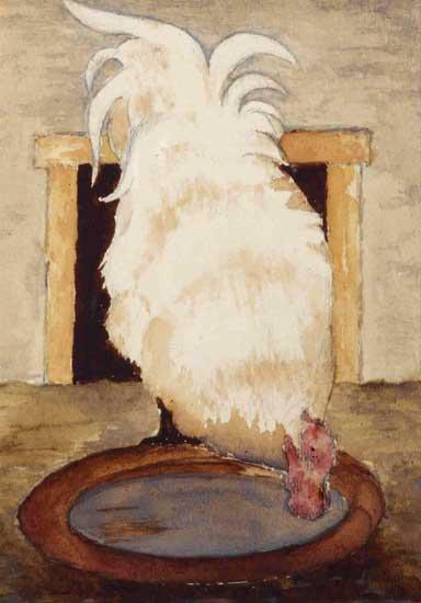 Hen, Mankes (14X20)