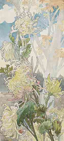 Chrysanthemums, Henri Privat-Livement