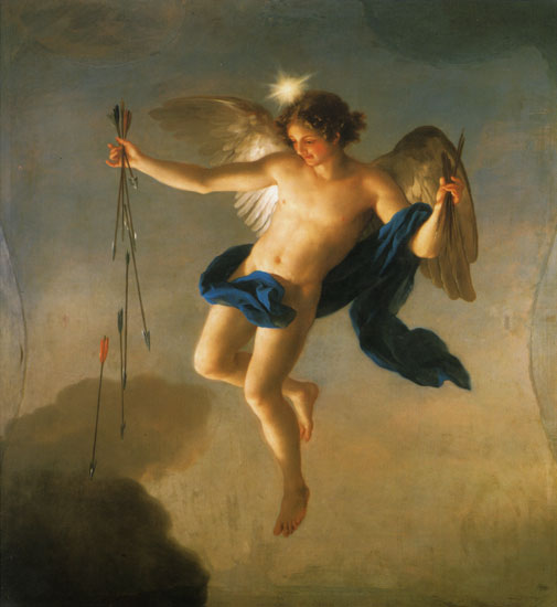 Hesperus as Personification of the Evening, Anton Raphael Mengs (21x22)