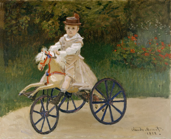 Hobby  Horse, Monet (22X27)