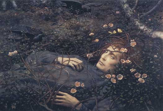 Oh, What's That in the  Hollow?, Edward Robert Hughes