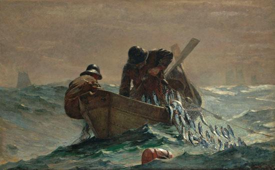 The Herring Net, Winslow Homer