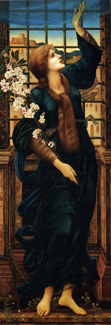 Hope, Edward Burne-Jones (14.4X42)