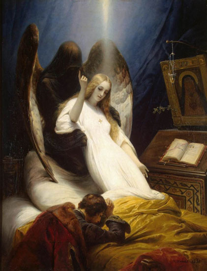 Angel of Death, Horace Vernet