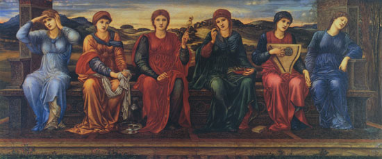 Hours, Burne-Jones (16X38.5)