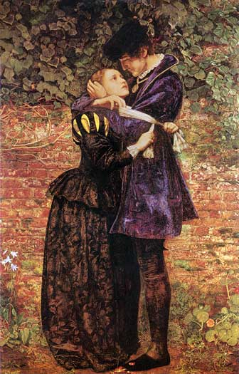 The Huguenot, Sir John Everett Millais