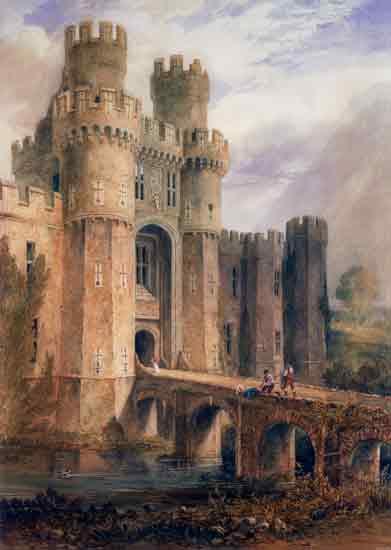 Hurstmontceaux Castle,Buckler (16X22.5