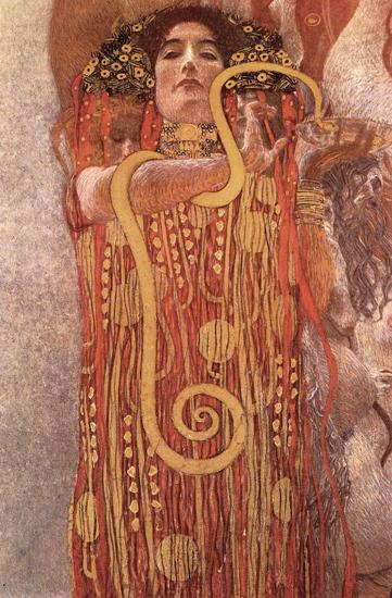 Hygielia, Klimt (12x32)