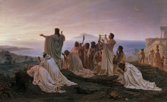 Hymn to the Rising Sun, Bronnikov (22X36)