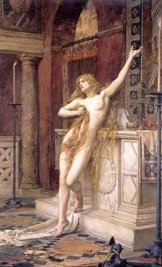 Hypatia, Charles William Mitchell (18X29.5)