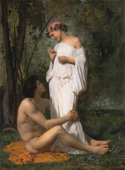 Idyll, Bouguereau
