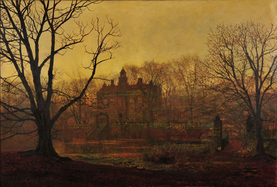 In the Gloaming, John Atkinson Grimshaw (22X32.6)
