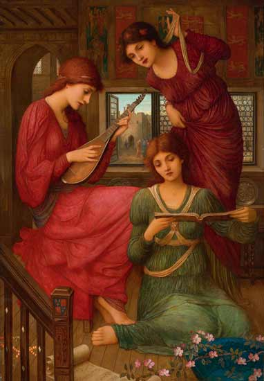 In the Golden Days, Strudwick (22X31.7)