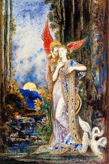Inspiration, Gustave Moreau (18X27)
