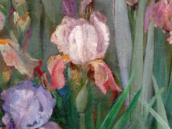 Iris (detail), Maria Oakley Dewing
