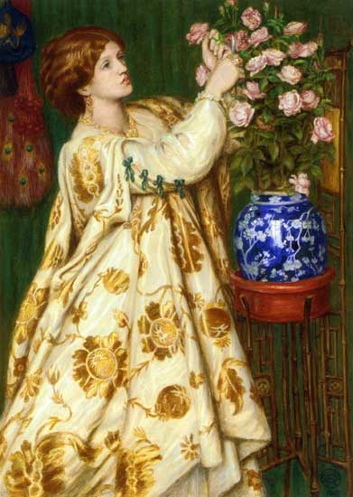 Isabella and the Pot of Basil, Dante Gabriel Rossetti