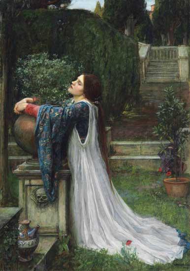 Isabella and the Pot of Basl, Waterhouse (24X34)