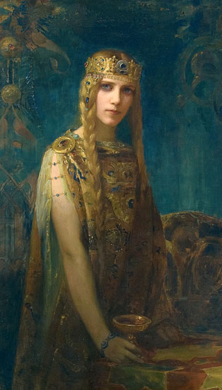 Isolde,  Gaston Bussiere (18X31.5)