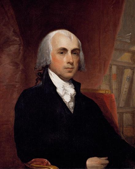 James Madison, Gilbert Stuart (24x30)
