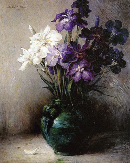 Japanese Iris, John Ferguson Weir