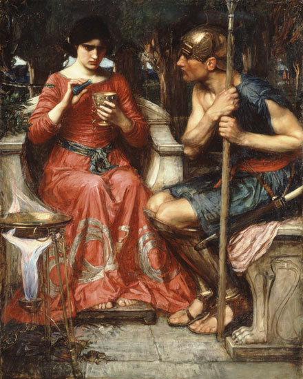Jason and Medea, Waterhouse (22X27.5)
