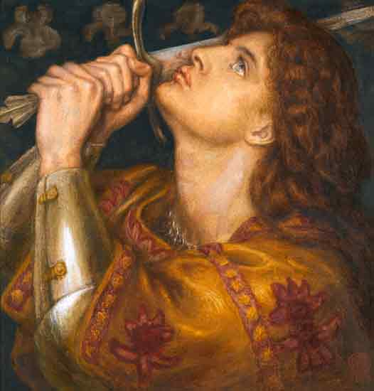 Joan of Arc, Dante Gabriel Rossetti