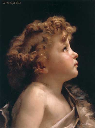 Young John the Baptist, Bouguereau (16X21.5)