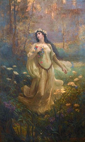 Ophelia, James Kirkpatrick (16X26.75)