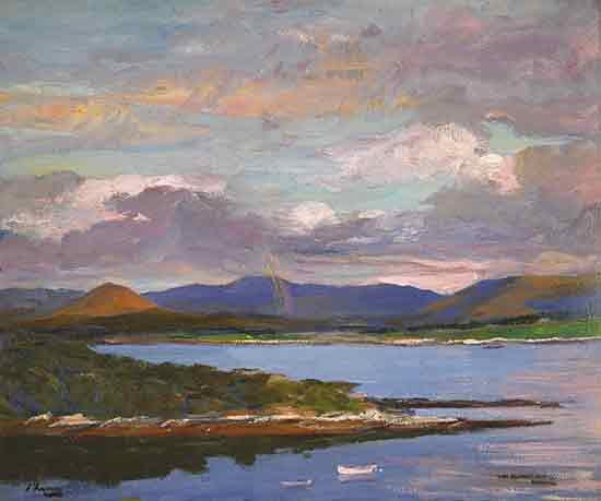 Kenmare River, Evening, Sir John Lavery