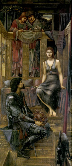 King Cophetua and the Beggar Maid, Edward Burne-Jones   , Edward Burne-Jones   , Edward Burne-Jones