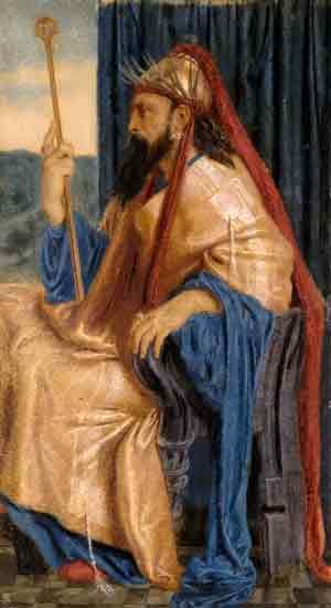 King Solomon, Simeon Solomon