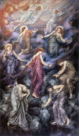 The Kingdom of Heaven Suffereth Violence, Evelyn De Morgan