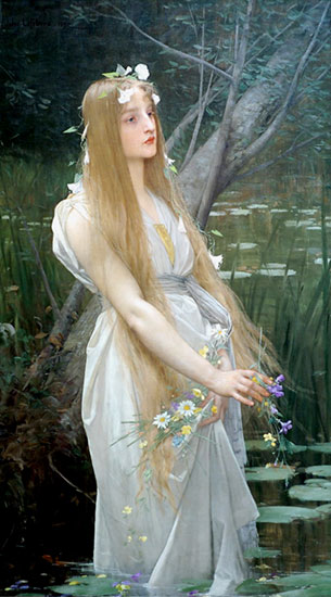 Ophelia, Jules-Joseph Lefebvre